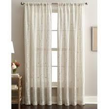 What Is A Cafe Curtain Rod Linen Curtains U0026 Linen Drapes You U0027ll Love Wayfair