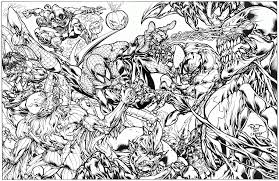 8 pics of symbiote spider man coloring pages images of symbiote