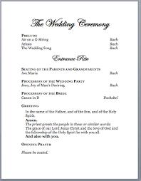 exle of wedding programs wedding programs wording for catholic ceremony finding wedding ideas