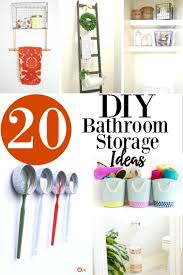 Diy Bathroom Storage by 20 Diy Bathroom Storage Ideas Design Decor Divine Lifestyle