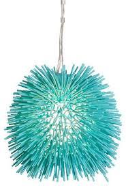 urchin one light mini pendant contemporary pendant lighting