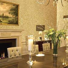 1m 45cm gold silver rose sandstone surface sticky wallpaper from