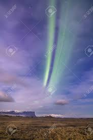 northern lights iceland april aurora borealis or the northern lights iceland april 2016 stock