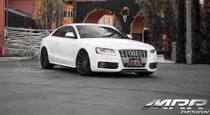 Audi Q7 Matte Black - mrr hr9 full matte black on audi s5 wheels