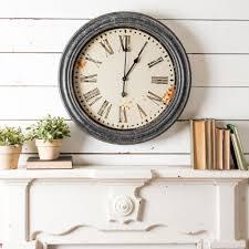 fixer upper magnolia book black frame clock magnolia chip joanna gaines
