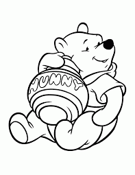 winy poo coloring pages winnie pooh coloring pages 14633