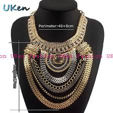 necklace wholesale images Wholesale fashion boho style exaggerated multilevel chain jpg