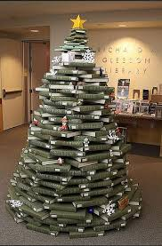 recycled content or live christmas tree alternatives for the