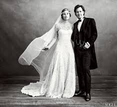 lauren bush wedding dress pictures popsugar fashion