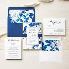royal blue wedding invitations royal blue wedding invitations modern wedding invites gold