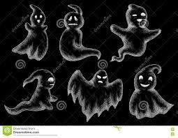 chalkboard halloween ghosts u2013 halloween wizard
