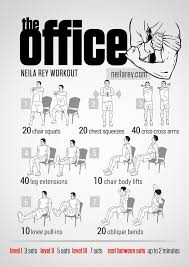 exercice au bureau flex your to these pop culture workouts entraînement