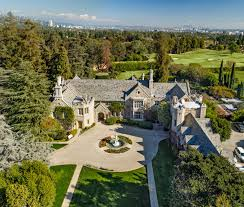 Spelling Manor Floor Plan by Holmby Hills Los Angeles Curbed La