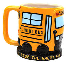 Awesome Coffee Mugs Amazon Com Bigmouth Inc I Ride The Short Bus Mug Coffee Cups U0026 Mugs