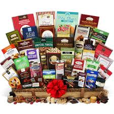 snack gift basket the most signature series executive suite snack gift basket for