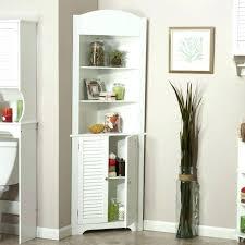 bathroom linen cabinet with glass doors corner storage cabinet with door tall linen cabinets bathroom