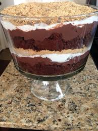 thanksgiving trifle recipes s u0027mores chocolate trifle the cookin