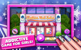 fashion nail dress up salon android apps on google play