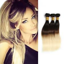 ombre hair weave african american straight indian remy human ombre hair extensions