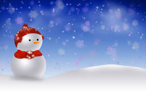 cute animated merry christmas hd wallpaper