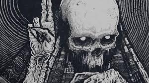 wallpaper black metal hd skull full hd wallpaper and background image 1920x1080 id 368214