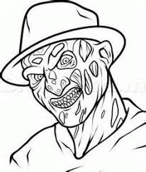 Scary Coloring Pages Printable Coloring Pages For Kids Scary Coloring Paes