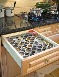 a truly organized spice drawer kitchn