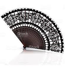 black lace fan fans clipart white lace pencil and in color fans clipart white lace