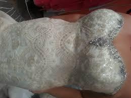 gold sequin plus size mermaid wedding dress