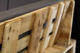canapé en palette avec dossier tuto un canapé d angle en palettes