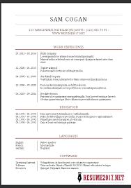 Updated Resume Templates Updated Resume Templates Jospar