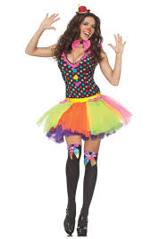 Halloween Clown Costumes by Polka Dot Tutu Clown Dress Halloween Costumes