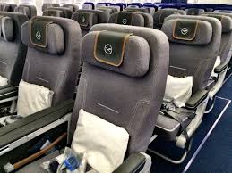 A340 Seat Map Review Of The New Lufthansa Premium Economy