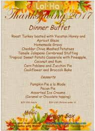 4 thanksgiving menus akumalnow