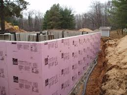 Exterior Basement Wall Insulation by Stud U0026 Insulate All American Dream Homesall American Dream Homes