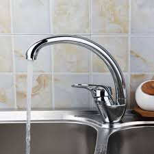ru modern 360 rotation swivel cold water kitchen faucet pure