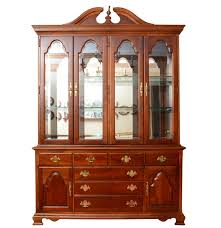 american craftsman collection by stanley china cabinet ebth