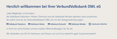 Ebay Kleinanzeigen Bad Pyrmont Homepage Verbundvolksbank Owl Eg