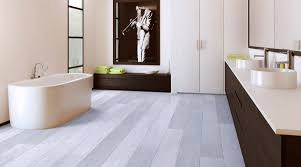 vinyl flooring for bathrooms ideas modern minimalist bathroom design with white and brown wood