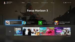 customize home the next xbox one dashboard update lets players customize their home