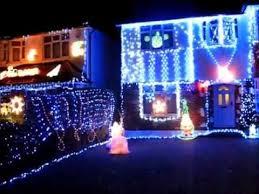 christmas lights lower morden lane youtube