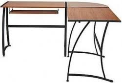 gillespie l shaped desk gillespie l shaped corner desk in sonoma cherry finish 89 99