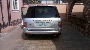 land rover vogue 2005 landrover range rover vogue hse 2005 forsale autos nigeria