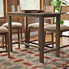 Rustic Bistro Table And Chairs Rustic Pub Tables Bistro Sets You Ll Wayfair