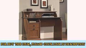 Sauder Orchard Hills Computer Desk With Hutch Carolina Oak by Sauder Graham Hill Desk Autum Maple Finish Youtube
