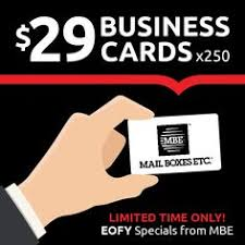 Budget Business Cards Even More Incredible Offers For End Of Financial Year From Mbe