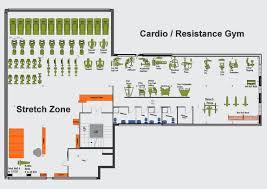 fitness center floor plan fitness gym floor plan home building plans 48987