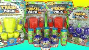 surprise trash pack series 7 junk germ 5 packs unboxing u0026 toy