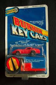 vintage 1980s kidco vette turbo burnin u0027 key cars carded