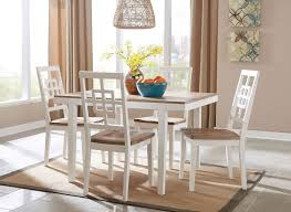 brovada 5 piece dining room set casual dining sets dining room